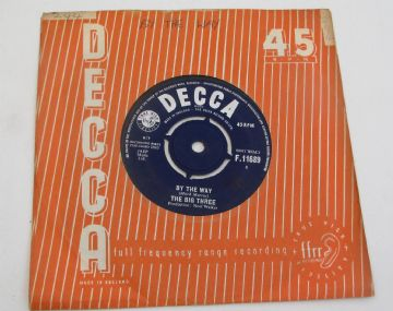 "Big Three (The) BY THE WAY 1963 MERSEYSIDE BEAT UK 7""   EX+ / VG+ AUDIO"